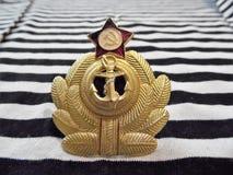 Die Attribute der Marine von Russland Stockbilder
