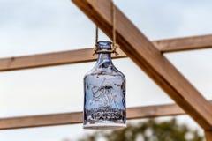 Die aufwändige Glasdekoration ist in der Natur Lizenzfreie Stockfotografie