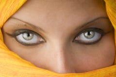 Die Augen stockfotografie