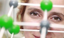 Die Augen eines Forschers Lizenzfreies Stockfoto