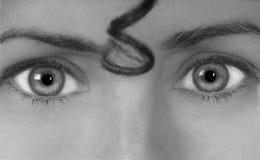 Die Augen haben es lizenzfreie stockbilder