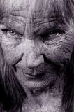 Die Augen von Olga Lizenzfreies Stockbild
