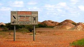 Die Ausbrechene, Süd-Australien stockfotografie