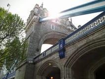 Die ausgezeichnete London-Brücke in London Lizenzfreies Stockfoto