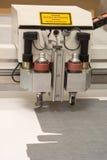 Die Ausrüstung des Druckbüros Stockbild