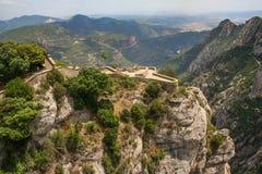 Die Aussichtsplattform des Benediktiners stockbild
