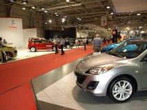 Die Ausstellunghalle der Sofia-Autoausstellung Lizenzfreies Stockfoto