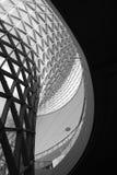 Die Ausstellungs-Mittellinien-Kurve Lizenzfreies Stockbild