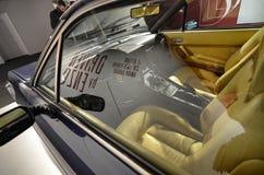 Die Ausstellungshalle eingeweiht den Modellen, die Enzo Ferrari liebte, persönlich zu fahren lizenzfreies stockfoto