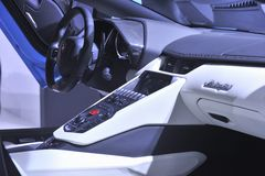 Die Automobilausstellung Lizenzfreie Stockfotos