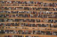 Die Autos Stockfotografie