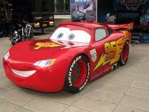 Die Autos - Blitz McQueen Stockbilder