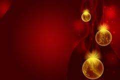 Die Bälle des neuen Jahres Stockbild