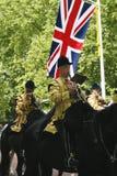 Die Bänder der Königin an der Geburtstags-der Parade der Königin Stockfoto