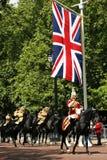 Die Bänder der Königin an der Geburtstags-der Parade der Königin Lizenzfreie Stockbilder
