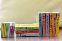 Die Bücher für Kinder die Bücher für Kinder Stockbild