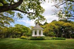Die Bühne in botanischen Gärten Singapurs Stockbild