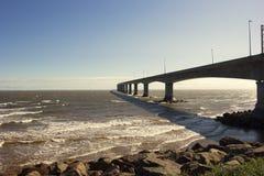 Die Bündnis-Brücke in Kanada stockfotos