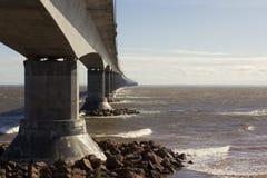 Die Bündnis-Brücke in Kanada lizenzfreies stockbild