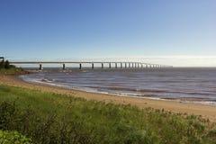 Die Bündnis-Brücke in Kanada lizenzfreie stockbilder