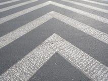 Die Bürgersteigslinie Stockfotografie