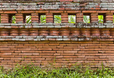 Die Backsteinmauer Lizenzfreie Stockfotos