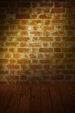 Die Backsteinmauer Stockfoto