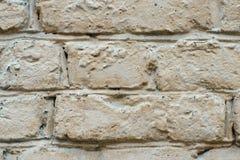 Die Backsteinmauer wird gemalt Lizenzfreies Stockbild