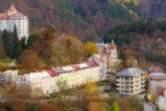 Die Badekurortstadt von Karlsbad Lizenzfreie Stockfotos