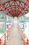 Die Bahnbrücke Lizenzfreie Stockfotos