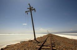 Die Bahnen… Stockfotografie