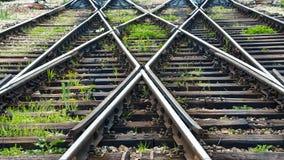Die Bahnlinien Lizenzfreie Stockfotografie