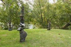Die Balance der Steine Stockbild