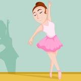 Die Ballerina Stockbild