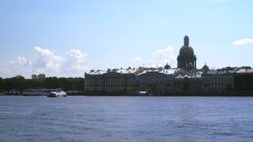 Die Bank Neva Rivers stock footage