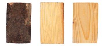 Die Barke und das Holz der Fichte Lizenzfreies Stockfoto