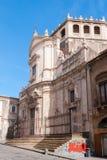 Die barocke Kirche von San Giuliano im Stadtzentrum von Catania Lizenzfreies Stockfoto