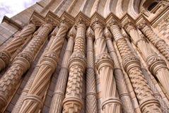 Die Basaltspalten des Eingangs von Waterhouse stockfoto