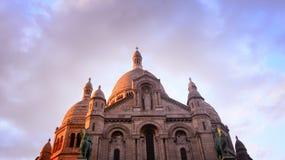 Die Basilika des heiligen Inneren von Paris, Frankreich Stockbild