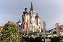 Die Basilika von Mariazell, Steiermark, Österreich lizenzfreie stockbilder