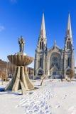 Die Basilika von Sainte Anne de Beaupre in Quebec, Kanada Lizenzfreies Stockfoto
