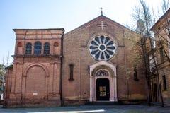 Die Basilika von San Domenico im Bologna stockbild