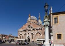 Die Basilika von St Anthony in Padua stockfotografie