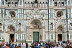 Die Basilikadi Santa Croce (Basilika des heiligen Kreuzes) in Flor Stockfotos