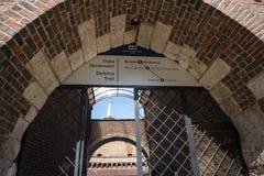 Die Bastion von Krakau ist ein Teil der Verstärkungen von Krakau, die jetzt in der Stadt bleiben Stockbilder