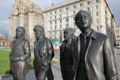 Die Beatles-Skulptur Lizenzfreies Stockbild