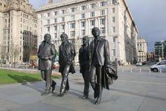 Die Beatles-Skulptur Lizenzfreie Stockfotos