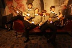 Die Beatles-Wachsfiguren Lizenzfreie Stockfotografie