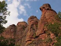 Die Belogradchik-Felsen u. das x28; Bulgaria& x29; Lizenzfreie Stockfotografie