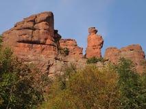 Die Belogradchik-Felsen u. das x28; Bulgaria& x29; Stockbild